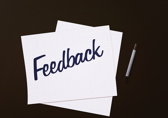 feedback in sales