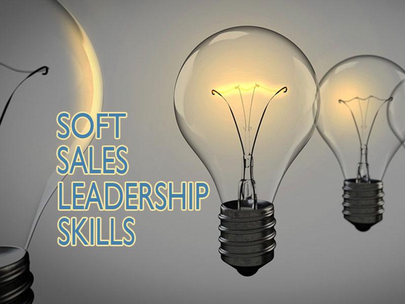 light bulbs glowing to illustrate soft leadership skills